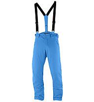 Salomon Iceglory P - pantaloni da sci - uomo, Light Blue