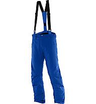 Salomon Pantaloni sci Iceglory Pant M (2016), Blue Yonder