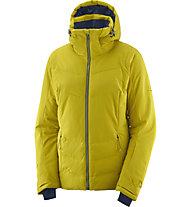 Salomon Icepuff - giacca da sci - donna, Yellow