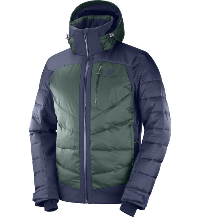 Salomon Iceshelf - Skijacke - Herren, Green/Blue