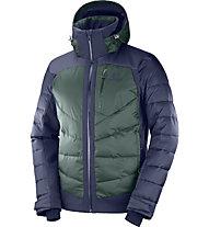 Salomon Iceshelf - Skijacke - Herren, Green/Blue