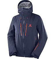 Salomon Icestar 3L - giacca da sci - uomo, Blue/Orange