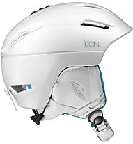 Salomon Icon2 - casco sci donna, White