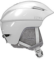 Salomon Icon2 C.Air - casco sci alpino - donna, White