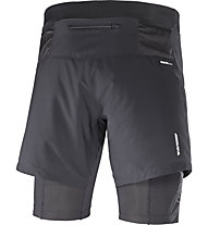 Salomon Intensity TW Short M Herren 2-in-1 Laufhose, Black
