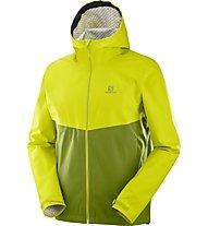 Salomon La Cote Flex 2,5L - giacca hardshell con cappuccio - uomo, Yellow