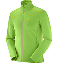 Salomon Layer Discovery - giacca in pile - uomo, Green
