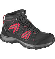 Salomon Leighton Mid GTX - scarpe trekking - donna, Dark Grey/Red