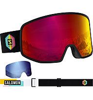 Salomon LO FI Sigma - Skibrille, Black