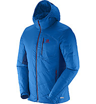 Salomon Minim Synth Hoodie Giacca a vento, Union Blue