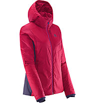 Salomon Minim Synth Hoodie Damen, Pink