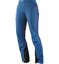 Salomon Minim WS Softshell Pant W Pantaloni lunghi Softshell donna, Dolomite Blue/Abyss Blue