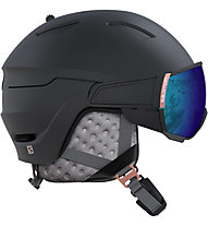 Salomon Mirage - casco sci - donna, Black