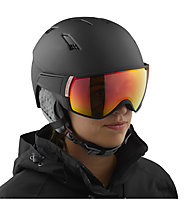 Salomon Mirage CA Photo - Visierhelm - Damen, Black/Grey