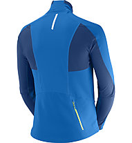 Salomon Momentum Softshell Jacket M, Union Blue/Midnight Blue