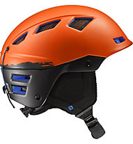 Salomon MTN Charge - Freeridehelm, Orange/Black