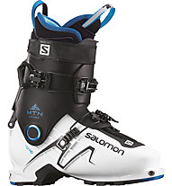 Salomon MTN Explore - scarpone scialpinismo, White/Black/Blue