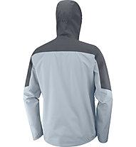 Salomon Outline - giacca trekking - uomo, Light Blue/Blue