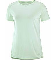 Salomon Outline Summer - Wandershirt - Damen, Light Green