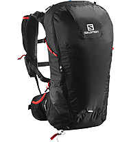 Salomon Peak 30 - Rucksack, Black/Bright Red