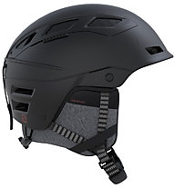 Salomon QST Charge - Skihelm, Black
