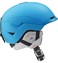 Salomon Quest Access - casco freeride, Blue Matt
