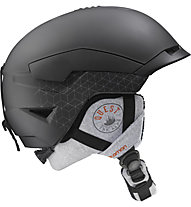 Salomon Quest Access - casco freeride, Black Mat