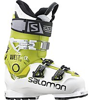 Salomon Quest Pro TR 110 - Scarponi Freeride, White/Acide Green
