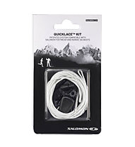 Salomon Quicklace Kit - lacci di ricambio, White