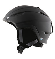 Salomon Ranger Access Skihelm, Black