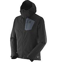 Salomon Ranger Jacket Herren Softshelljacke, Black