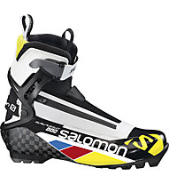Salomon S-Lab Pursuit - Scarpe Sci Fondo Classico, Black/White/Yellow