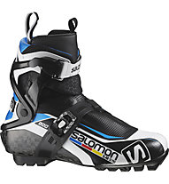 Salomon S-Lab Skate Pro - scarpa da fondo skating, Black/Blue/White