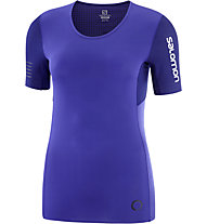 Salomon S/LAB NSO Tee W - Kurzarm-Shirt Trailrunning - Damen, Purple