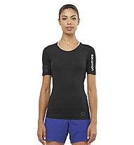 Salomon S/LAB NSO Tee W - Kurzarm-Shirt Trailrunning - Damen, Black