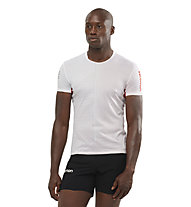 Salomon S/LAB SENSE Tee M - T-shirt running - uomo, White/Red