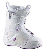 Salomon Scarlet Snowboardboot Damen, White