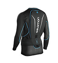 Salomon Secondskin Flexcell M - Rückenprotektor, Black/Blue