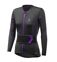 Salomon Secondskin Flexcell W Damen-Protektorenweste, Black/Purple