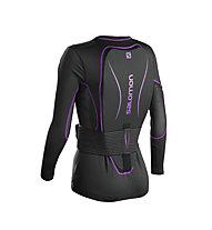 Salomon Secondskin Flexcell W - protezione donna, Black/Purple