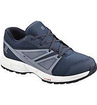 Salomon Sense CSWP Kids - scarpa da trekking - bambino, Blue