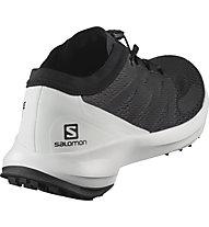 Salomon Sense Flow - Trailrunningschuh - Damen, Black/White