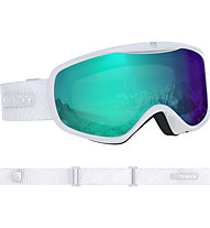 Salomon Sense Photo Skibrille Damen, White/Silver
