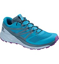Salomon Sense Ride 2 W - scarpe trail running - donna, Light Blue