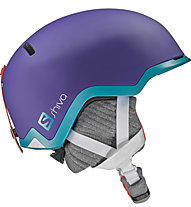 Salomon Shiva - casco freeride - donna, Purple