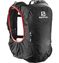Salomon Skin Pro 10 Set - Zaino, Black/Bright Red