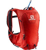 Salomon Skin Pro 10 Set - zaino trail running, Red/Grey