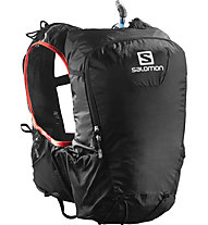 Salomon Skin Pro 15 Set - Zaino, Black/Bright Red