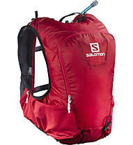 Salomon Skin Pro 15 Set  Trail- und Mountainrunning Rucksack, Red