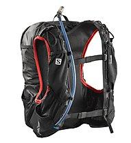 Salomon Skin Pro 15 Set - Trailrunning-Rucksack 15 L, Black/Red